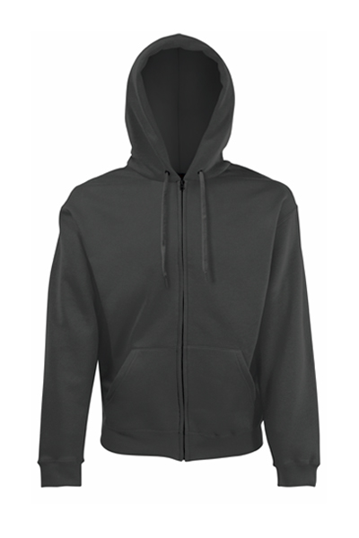 ZIP TROUGH HOODED SWEAT